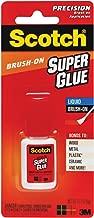Scotch Super Glue Liquid Brush-On.17 Ounces (AD127)