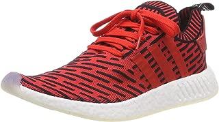 Originals NMD_R2 PK Mens Running Trainers Sneakers (UK 9 US 9.5 EU 43 1/3, red Black White BB2910)