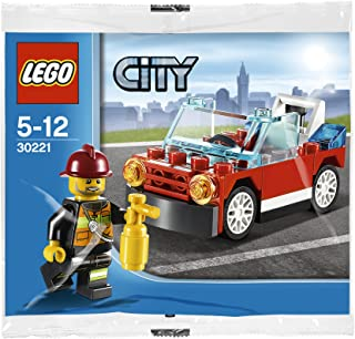LEGO City: Fire Car Set 30221 (Bagged)