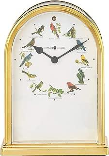 Howard Miller 645-405 Songbirds of North America III Table Clock by