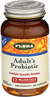 Flora, Udo's Choice Adults Probiotic, 60 Capsules
