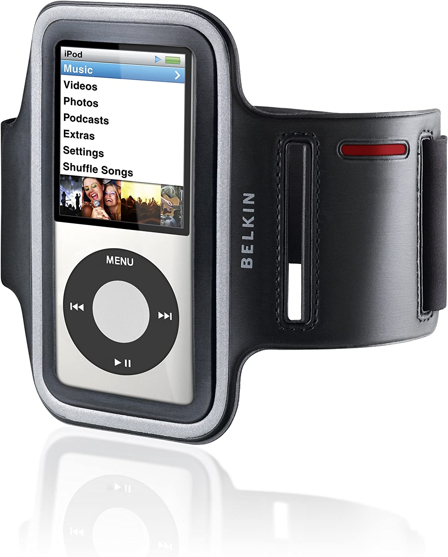 Black Belkin Ease-Fit Armband for iPod Nano 7th Gen MP3 & MP4 ...