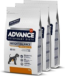 ADVANCE Veterinary Diets Weight Balance Medium/Maxi - Pienso Para Perros Adultos Con Problemas de Sobrepeso De Razas Media...