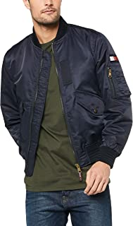TOMMY HILFIGER Men's Signature Tape Bomber Jacket