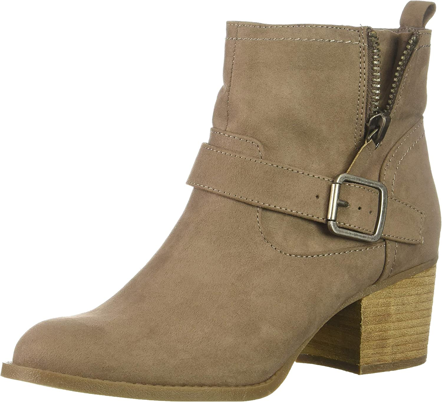Madden girl Womens Fibbi Ankle Boot