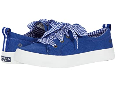 Sperry Crest Vibe Gingham Lace (Mazarine Blue) Women