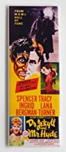 Dr. Jekyll & Mr. Hyde (1941) Movie Poster Fridge Magnet (1.5 x 4.5 inches)