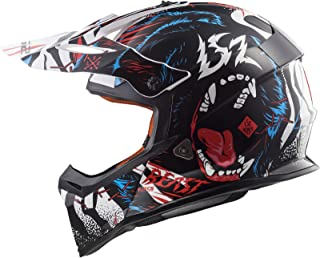 LS2 MX437 Fast Beast Motocross Helm XXXL 65/66