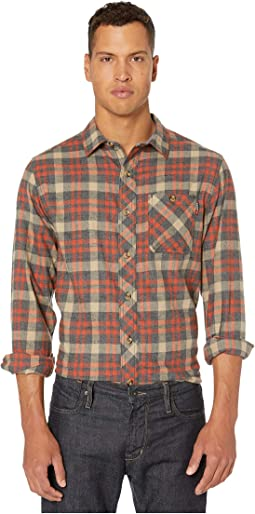 Burnt Orange Runyon Plaid
