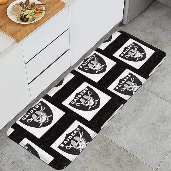 RegiDreae Non Slip Kitchen Mat PVC Backing Indoor Outdoor Floor Mats Entry Way Doormat Bath Rug Doormat Runner Carpet 47 2 17 7