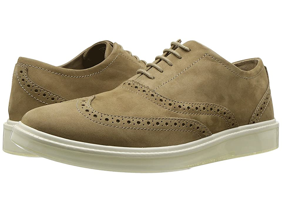 Hush Puppies Shiba Brogue Oxford (Taupe Nubuck) Men