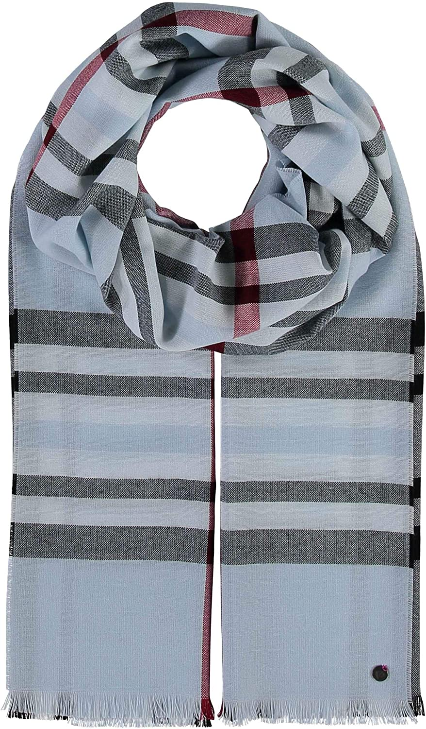 FRAAS Plaid Scarf Albuquerque Mall unisex - XXL Blanket with Modern Some reservation