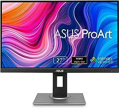 ASUS ProArt Display PA278QV 27� WQHD (2560 x 1440) Monitor, 100% sRGB/Rec. 709 ?E < 2, IPS, DisplayPort HDMI DVI-D Mini DP, Calman Verified, Eye Care, Anti-Glare, Tilt Pivot Swivel Height Adjustable