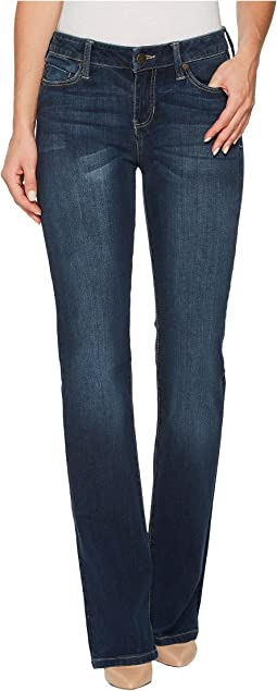 Lucy Bootcut Jeans with Shaping and Slimming Four-Way Stretch Denim in Lynx Wash