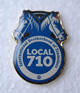 International Brotherhood of Teamsters Local 710 Lapel Pin