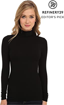 Refined Rib L/S Turtleneck