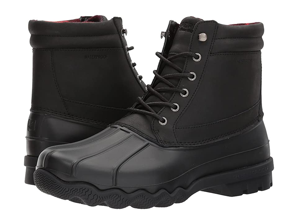 Sperry Brewster Boot (Black/Black) Men