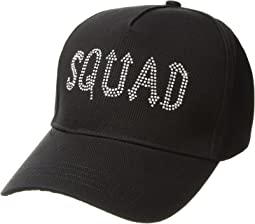 Betsey Johnson Rock Squad Baseball Hat