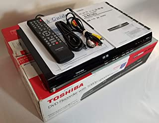 Toshiba D-R410 DVD -RW/R +RW/R Recorder, 720P/1080i/1080P upconversion, w/ HDMI DVD/CD Player Combo. Dolby Digital Sound. ...