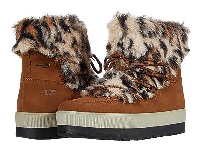 Cougar Vanity Waterproof (Oak Suede/Faux Fur) Women