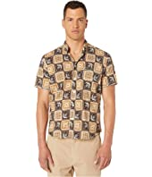 Billy Reid - Short Sleeve Savannah Tile Tuscumbia Shirt