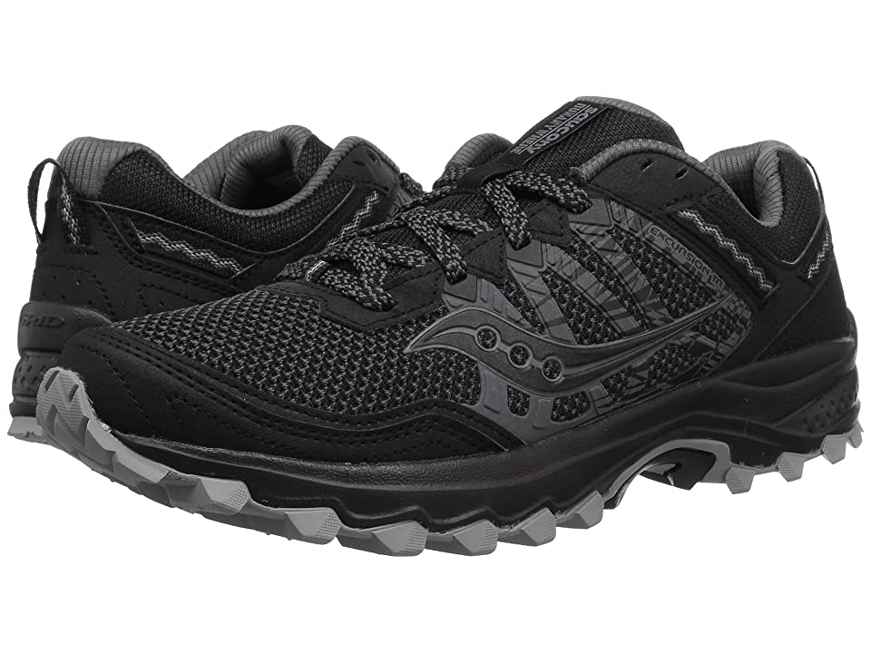 Saucony Grid Excursion TR12 (Black/Black) Men