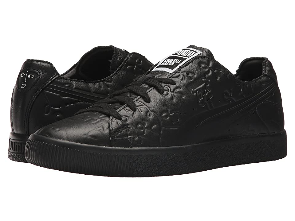 PUMA Clyde Raw SM (Puma Black/Puma Black) Men