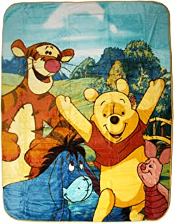 winnie the pooh twin blanket