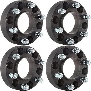 ECCPP Hub Centric Wheel Spacers 4X Black 1.5