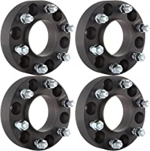 ECCPP Hub Centric Wheel Spacers 4X Black 1.5