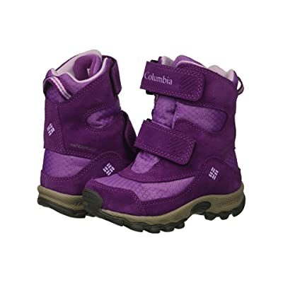 Columbia Kids Parkers Peaktm Boot (Toddler/Little Kid) (Crown Jewel/Phantom Purple) Girls Shoes