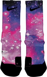 Bubblegum Galaxy Custom Elite Socks