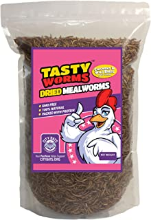 1 Lb Tasty Worms Freeze Dried Mealworms Approximately 16,000 Worms