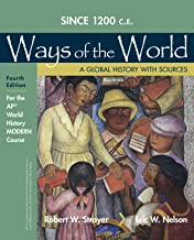 1200 Update Ways of the World with Sources for the Ap(r) Modern Course