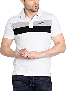 AWG Cotton Polo T-Shirts for Men