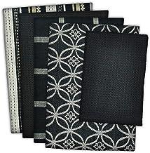 DII 100% Cotton, Ultra Absorbent, Oversized, Washing, Drying, Basic Everyday Kitchen Dishtowel 18 x 28 & Dishcloth 13 x 13...