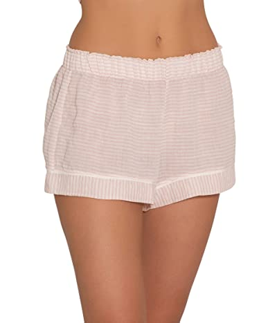 Eberjey Nautico Woven Shorts (Ballet Pink/Cloud) Women