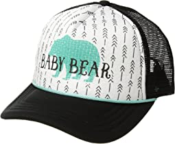 "San Diego Hat Company Kids ""Baby Bear"" Trucker (Toddler/Little Kids)"
