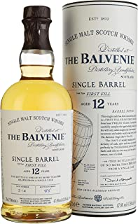 The Balvenie Single Barrel 12 Jahre Single Malt Scotch Whisky mit Geschenkverpackung 1 x 0,7 l