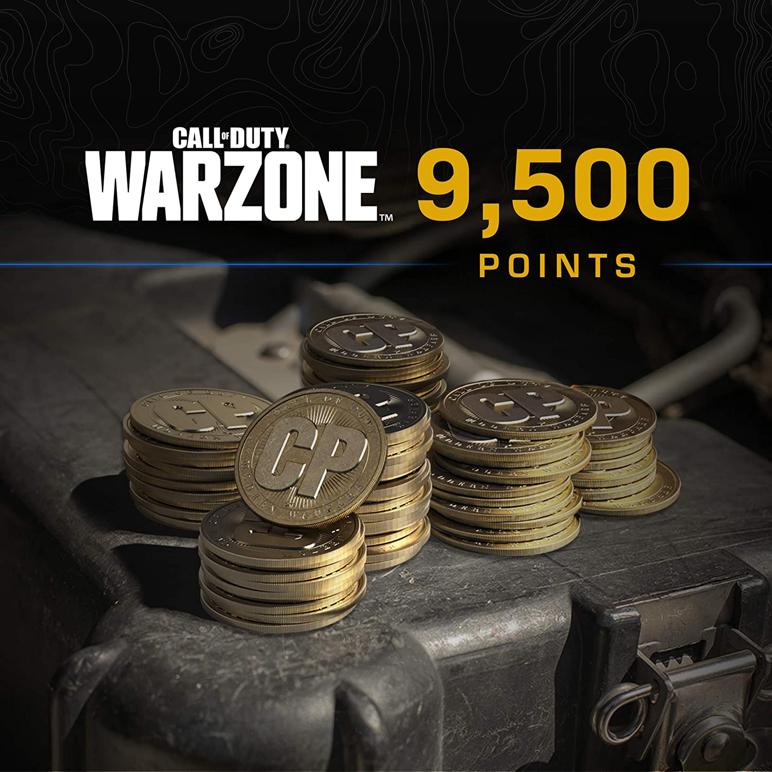 Call of Duty: San Diego Mall Warzone - 9 500 Direct store C Points PS4 PS5 COD Digital -