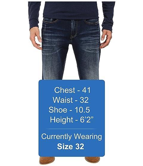 recta Vintage David pantalones pierna Vintage de vaqueros Buffalo relajado contraste Driven en Contraste Bitton 8qRwZaa7