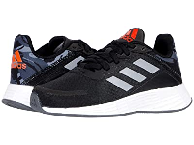 adidas Kids Duramo SL (Little Kid/Big Kid) (Black/Halo Silver/Solar Red) Kid