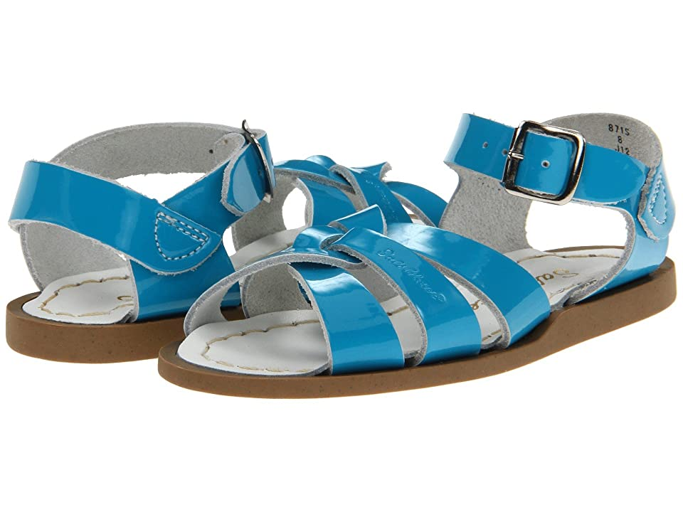 Salt Water Sandal by Hoy Shoes The Original Sandal (Infant/Toddler) (Turquoise) Girls Shoes