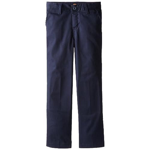 994b181a09ae38 Dickies Khaki Boys' Flex Waist Stretch Pant
