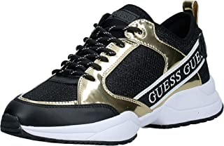 GUESS Breeta Women's Athletic & Outdoor Shoes, Gold (Gold/Multicolor GOMLL), 38 EU