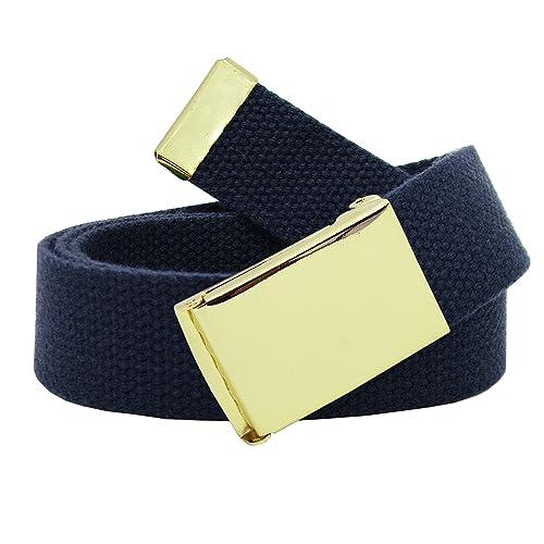 bb1f9c6fb55 Boy's Cub Scout Uniform Belt with Flip Top Buckle and Adjustable Navy Web  Belt Small