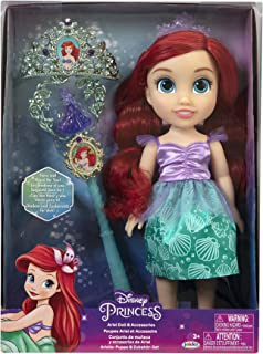 Disney Princess Core Doll Set With Tiara And Wands 15 Inches Assortment - One Piece Sold Separately