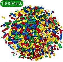 NEEGO Bloques de Construcción 1000 Piezas Bloques de Construcción Infantil 3D Juegos de Construcción Ladrillos de Construcción Juguete Colorido Juego para Niños Juguetes Educativos