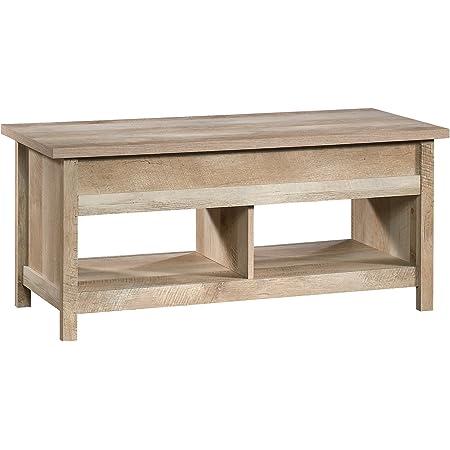 Amazon Com Sauder Cannery Bridge Lift Top Coffee Table Lintel Oak Finish Furniture Decor
