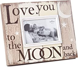 Hallmark Milestones Love You to The Moon and Back Picture Frame, 6x4